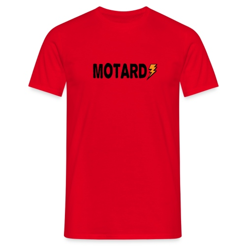 Motard Power Logo Moto - Maglietta da uomo