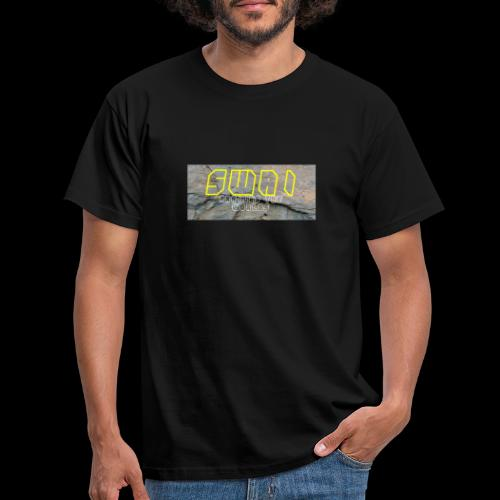 swai stoned yellow - Männer T-Shirt
