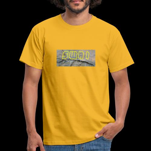 swai stoned yellow - Männer T-Shirt