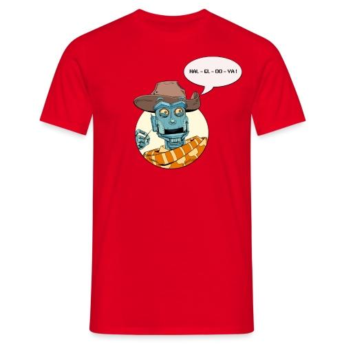 Hallelujah Robot - Herre-T-shirt