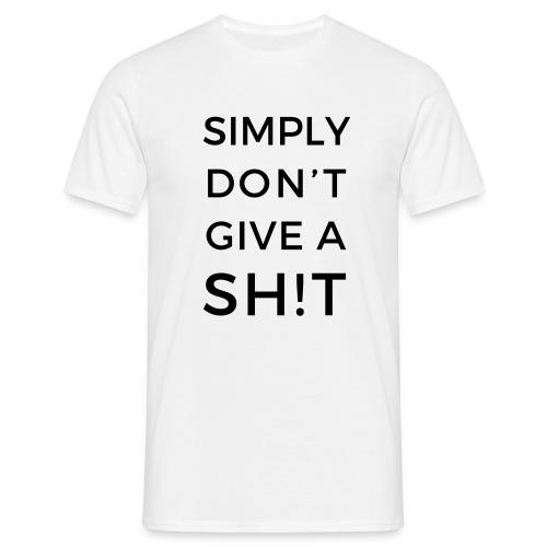 SIMPLY DON'T GIVE A SH!T - Maglietta da uomo