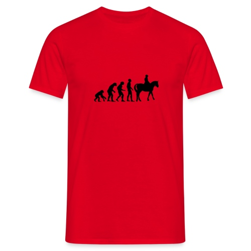 EVOLUTION HORSE - T-shirt Homme
