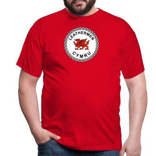LeatherMen Cymru Logo - Men's T-Shirt