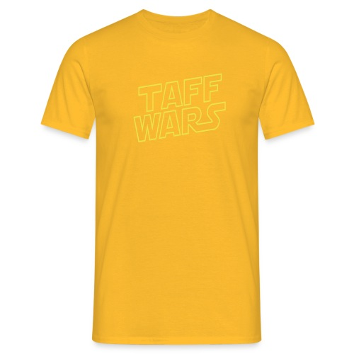 taffwars logo angle - Men's T-Shirt