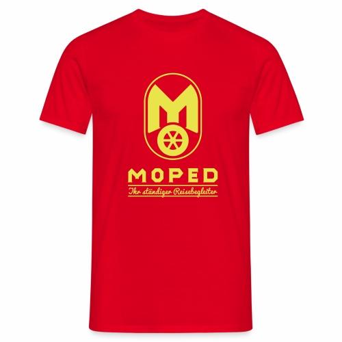Moped - Ihr ständiger Reisebegleiter - Men's T-Shirt