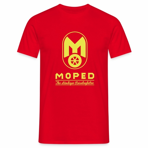 Moped - your constant travel companion - Men's T-Shirt