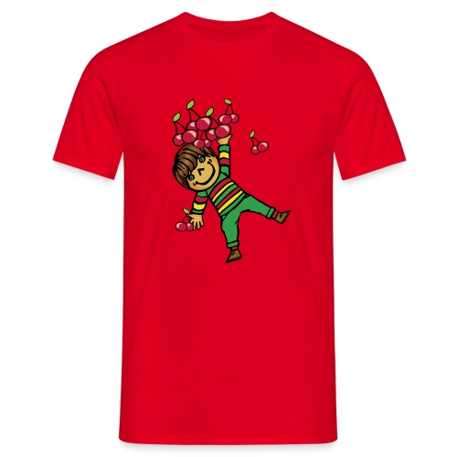 08 kinder kapuzenpullover hinten - Männer T-Shirt