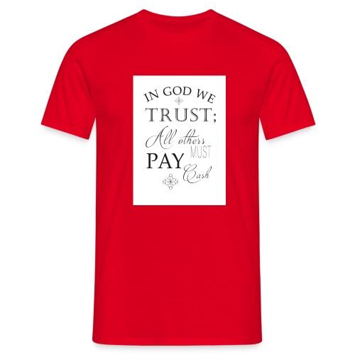 Amen - Men's T-Shirt