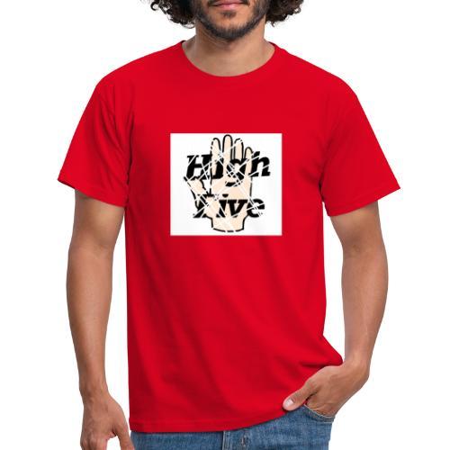 High Five (modern) - Männer T-Shirt