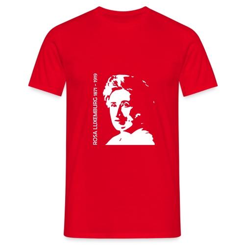 Rosa Luxemburg 18x20 - T-shirt herr