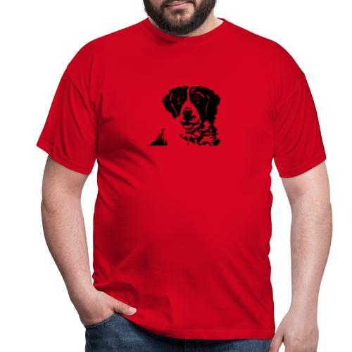 Barry - St-Bernard dog - Männer T-Shirt