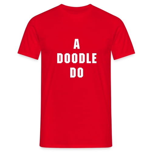 HM Murdock's A Doodle Do - Men's T-Shirt