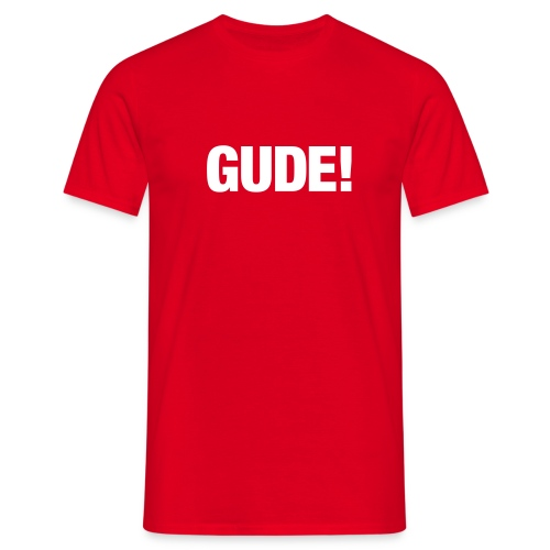 gude klassik - Männer T-Shirt