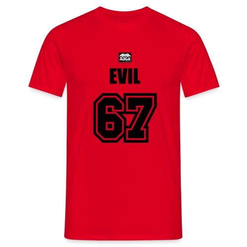 Bad Evil Motiv 4 - Männer T-Shirt