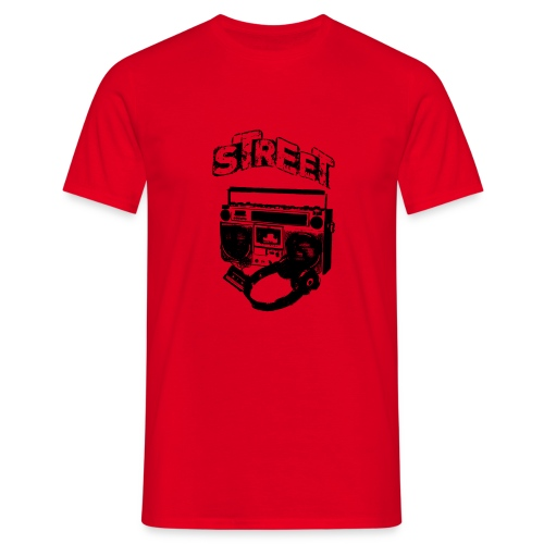 street 1 - Herre-T-shirt