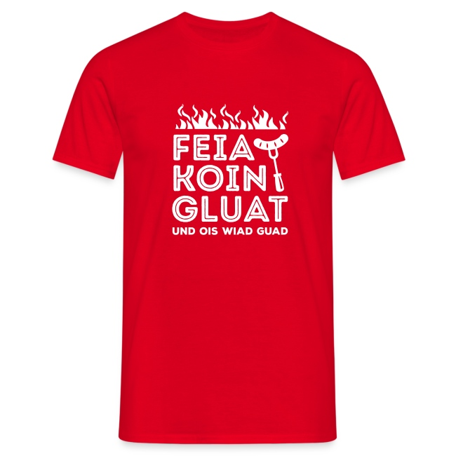 Vorschau: Feie Koin und Gluat - Männer T-Shirt