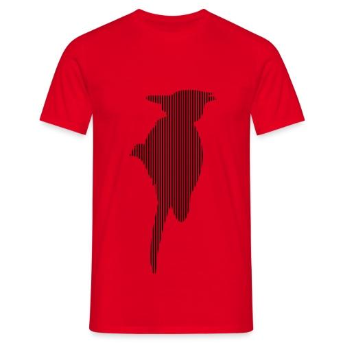LINE BIRD 035b - Mannen T-shirt