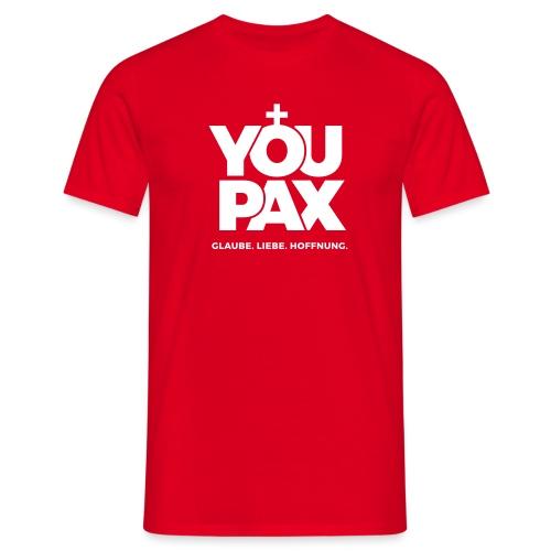 YOUPAX Logo sw - Männer T-Shirt