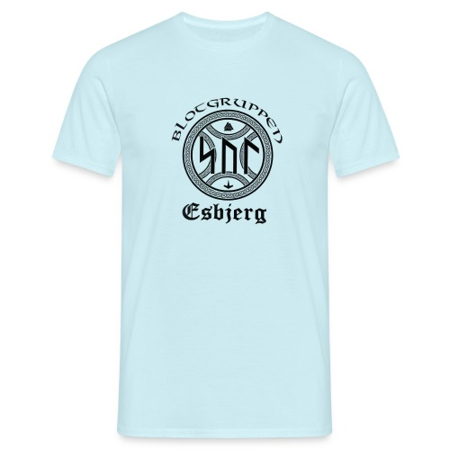 Asatro Blòtgruppen Sol Esbjerg - Herre-T-shirt