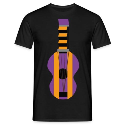 La Gitarre - T-skjorte for menn