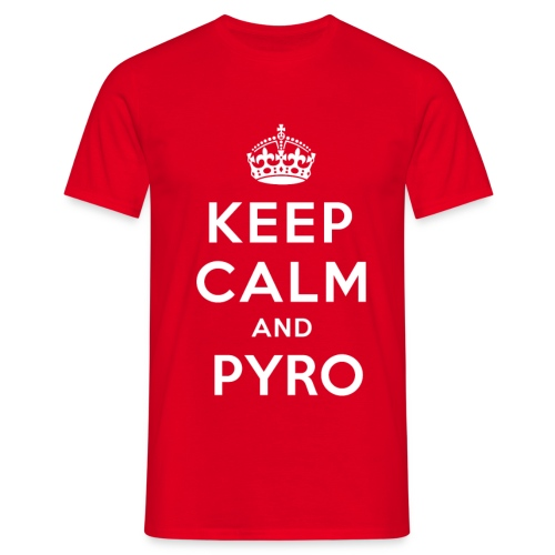 kEEPcALM png - T-shirt Homme