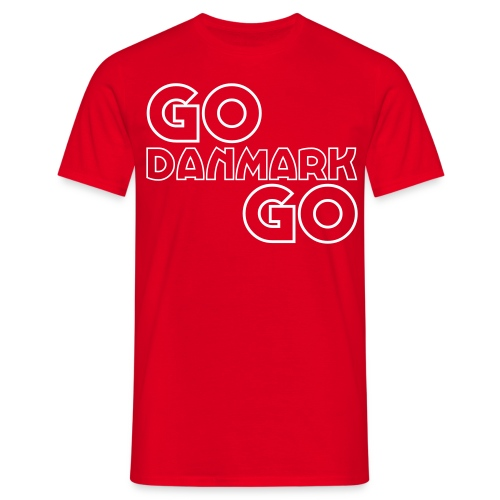 godanmarkgo - Herre-T-shirt