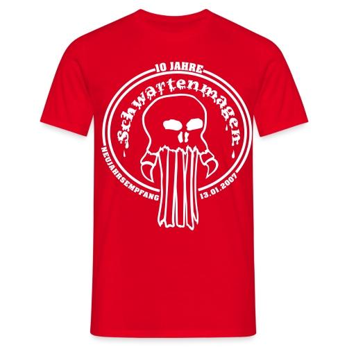 Schwartenmagen Girli in Blut rot - Männer T-Shirt