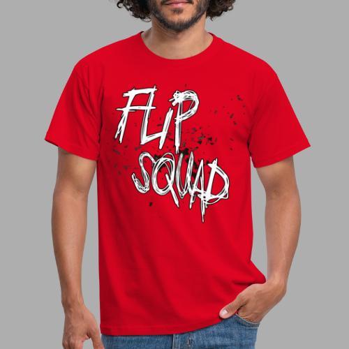 FlipSquad Vit Partiklar - T-shirt herr