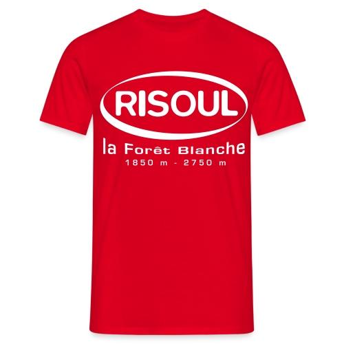 logorisoulblanc - T-shirt Homme