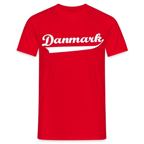 Danmark Swish - Herre-T-shirt