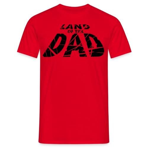 LOTD Logo Blakc - Men's T-Shirt