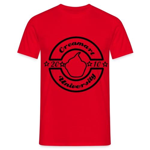 creamart university - T-shirt Homme