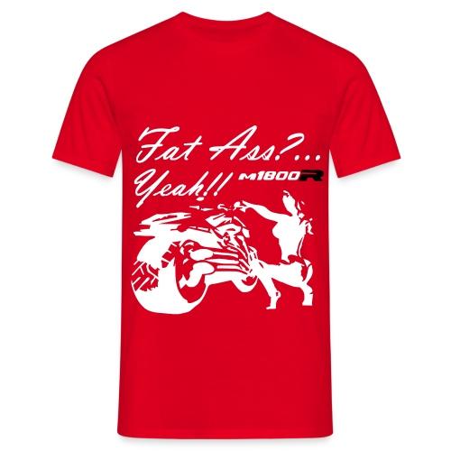 fat ass vec def - Camiseta hombre