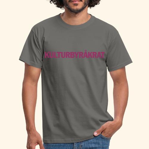 Kulturbyråkrat vektor - T-shirt herr