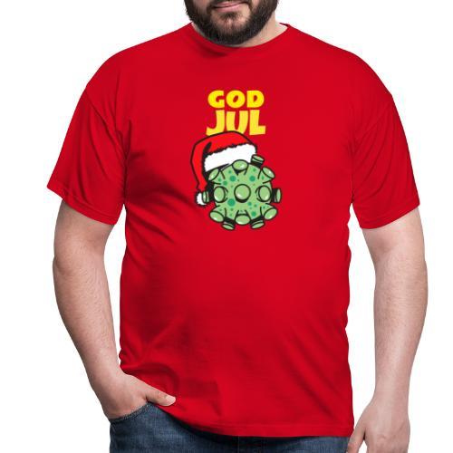 God jul - T-skjorte for menn