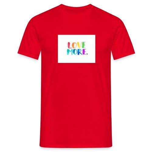 Love More - Mannen T-shirt