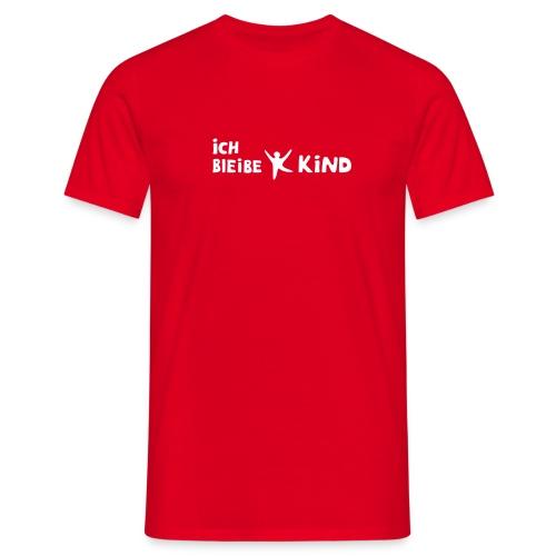 Ich bleibe Kind - Männer T-Shirt
