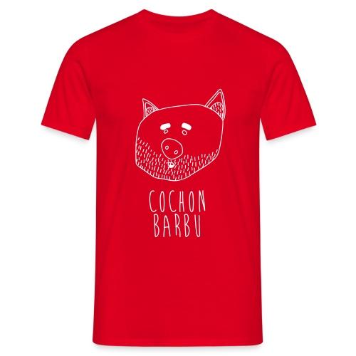 Cochon barbu - T-shirt Homme