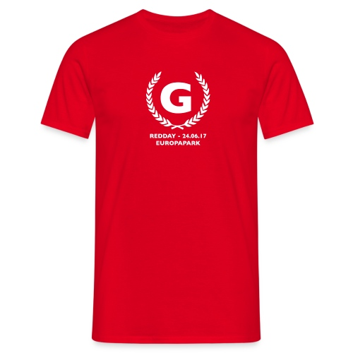 redday kranz - Männer T-Shirt