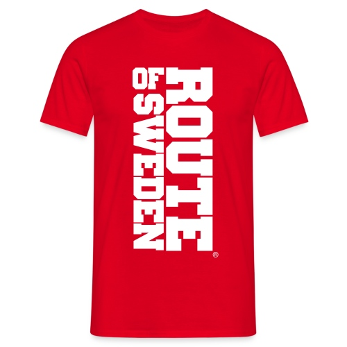 big text - T-shirt herr