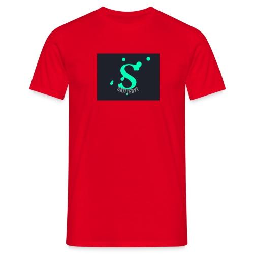skitterYT - T-shirt herr