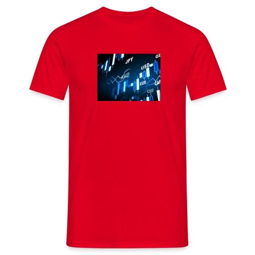 Forex is life - Männer T-Shirt