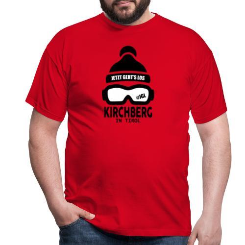 Kirchberg Après-ski party - Mannen T-shirt