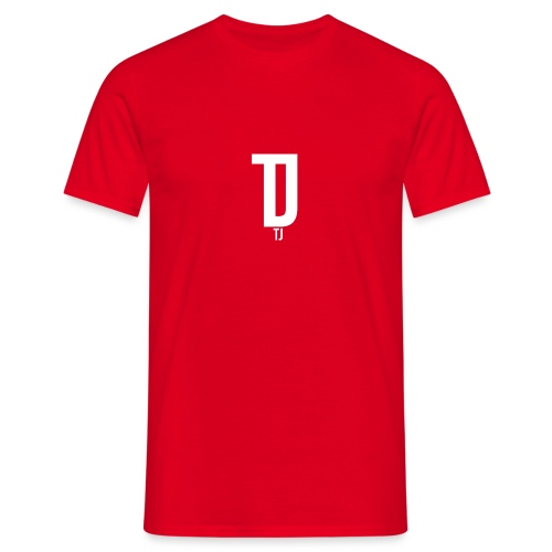 TJ_white_ - Männer T-Shirt