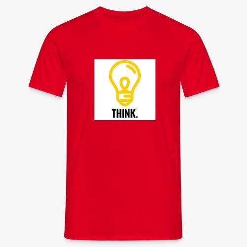 THINK - Maglietta da uomo