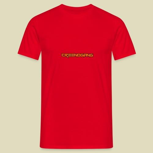 CreeNoGangSchriftzug - Männer T-Shirt