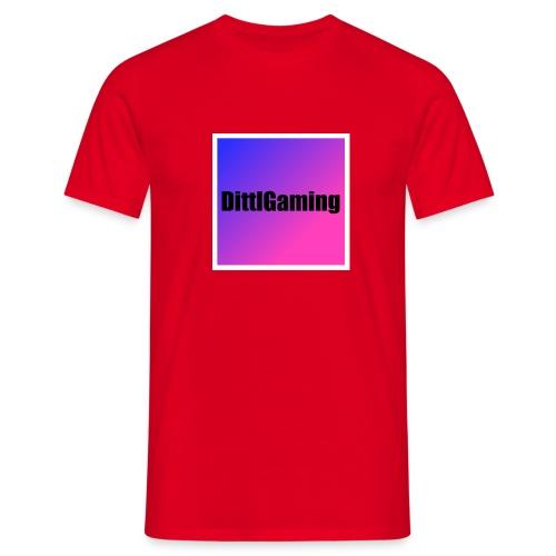 Merch mit Logo von DittlGaming - Männer T-Shirt