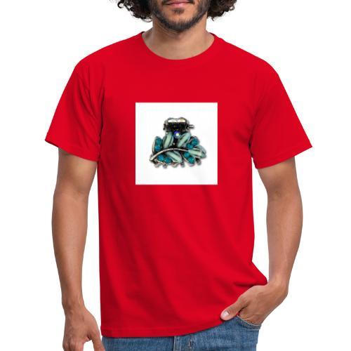 bleu - T-shirt Homme