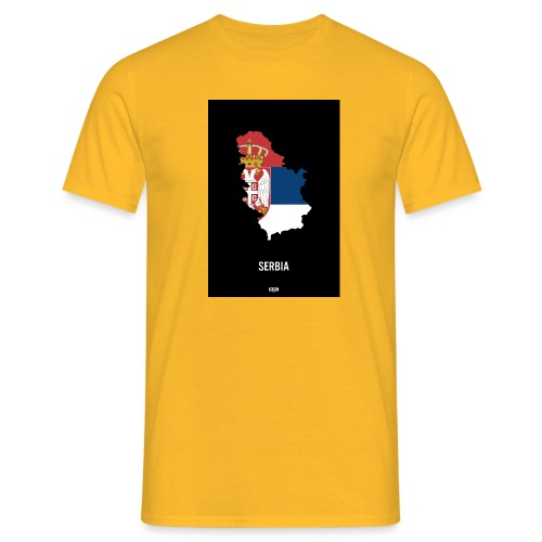BLKN. x MAP (Serbia) - Men's T-Shirt