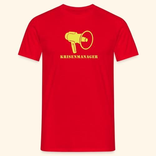 Krisenmanager - Männer T-Shirt